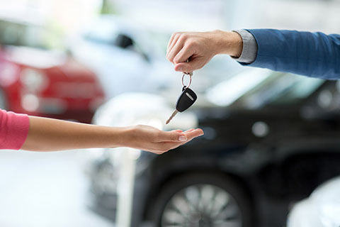 Buying a new car can be as simple as downloading the right app.