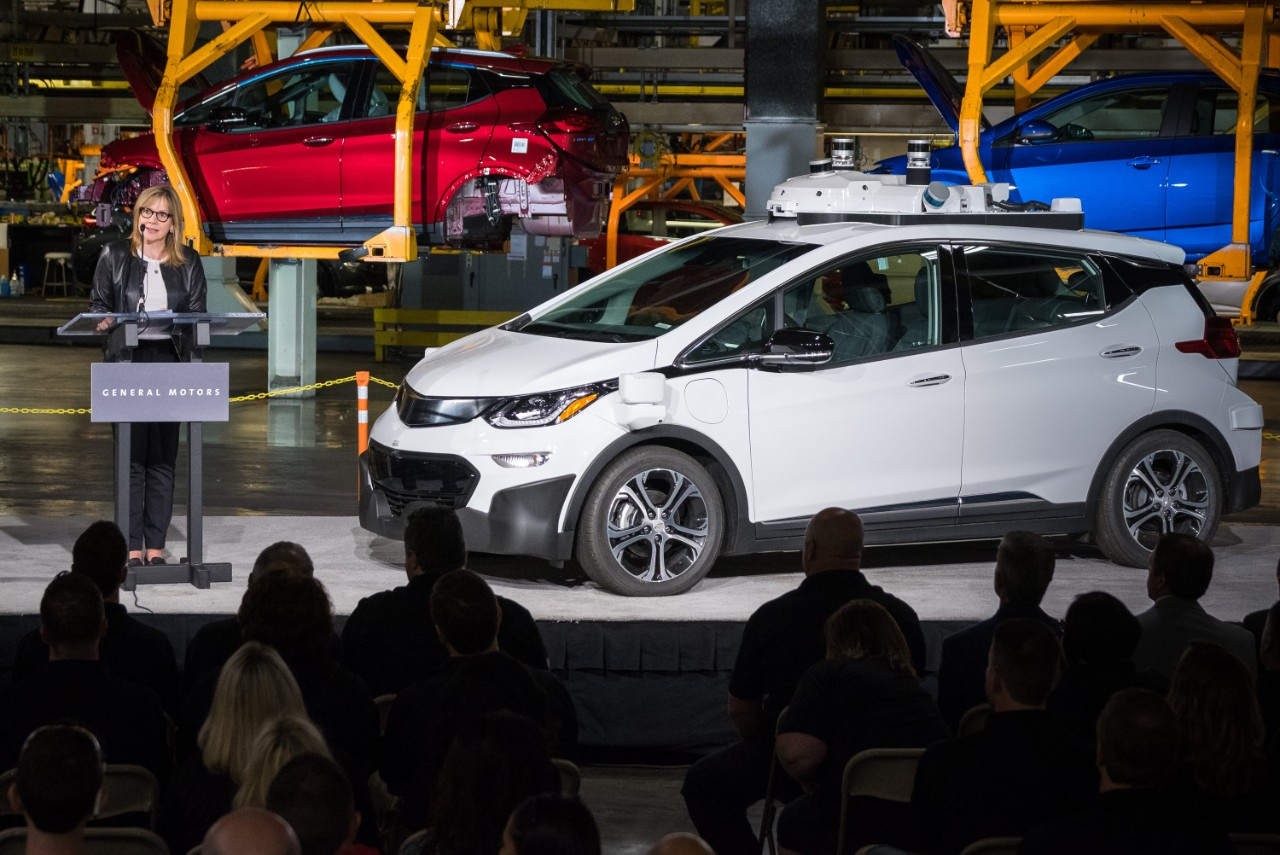 The self-driving Chevrolet Bolt has been implicated in multiple collisions as the autonomous technology learns to navigate humans.