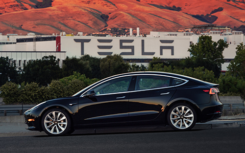 The first production unit of the Tesla Model 3 recently rolled off assembly lines. Some analysts and even Tesla CEO Elon Musk think the debut may be having an impact on the electric carmaker's sales, which sagged this spring.