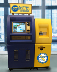 DMV NOW kiosks like these are showing up in grocery stores across the Los Angeles area.